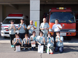 天龍ホールディングス株式会社 第1回オトナの社会見学「AED講習」開催 | TENRYU 天龍ホールディングス株式会社 創立70周年記念サイト